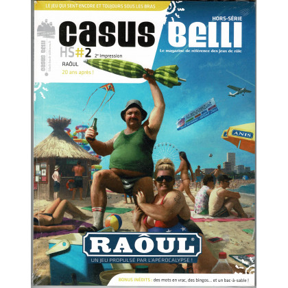 Casus Belli N° 2 Hors-Série - RAOUL (jdr de Black Book Editions en VF) 001