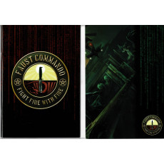 Faust Commando - Ecran, livret et carte (jdr XII Singes en VF)