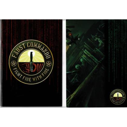 Faust Commando - Ecran, livret et carte (jdr XII Singes en VF) 001