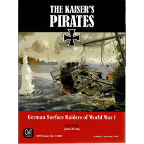 The Kaiser's Pirates (wargame solitaire & 2 joueurs de GMT en VO)