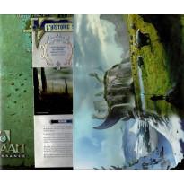 Shaan Renaissance - Ecran du Meneur de Jeu, livret + carte Héossie (jdr OriGames en VF)