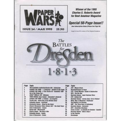 Paper Wars - Issue 24 (magazine wargames en VO) 001