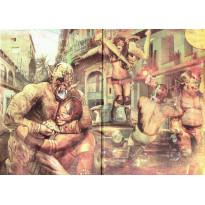 Luchadores - Ecran du MJ Rumble édition (jdr d'Ovni Editions en VF) 002