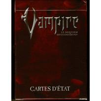 Paquet de cartes d'Etat (jdr Vampire Le Requiem 2e édition en VF)