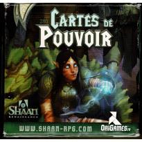 Shaan Renaissance - Paquet de Cartes de Pouvoir (jdr d'OriGames en VF) 001