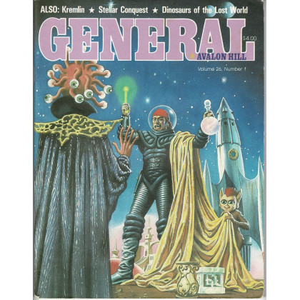 General Vol. 26 Nr. 1 (magazine jeux Avalon Hill en VO) 001