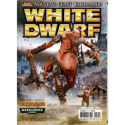 White Dwarf N° 144 (magazine de jeux de figurines Games Workshop en VF) 001