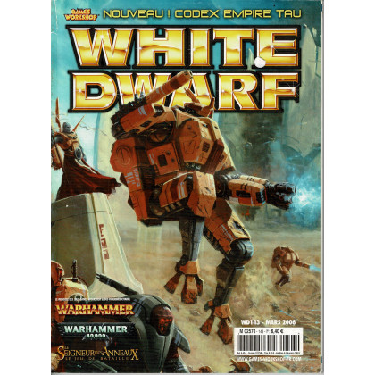 White Dwarf N° 143 (magazine de jeux de figurines Games Workshop en VF) 001