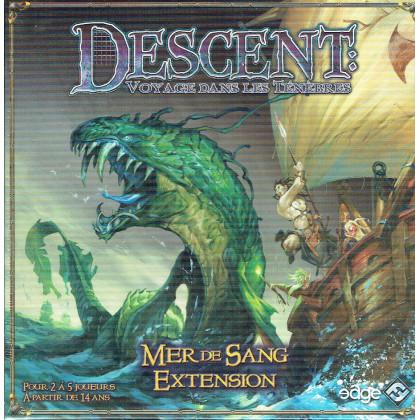 Descent - Extension Mer de Sang (jeu de plateau d'Edge Entertainment en VF) 001