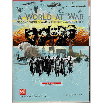 A World at War - Second World War in Europe and the Pacific (wargame GMT en VO) 001