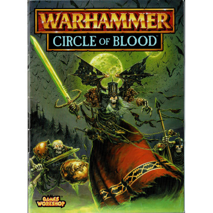 Circle of Blood (Livret Campagne jeu de figurines Warhammer en VO) 001