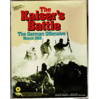The Kaiser's Battle - The German Offensive , March 1918 (wargame de SPI en VO) 001