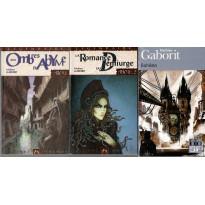 Lot 3 romans poche Ecryme & Abyme (livres Mathieu Gaborit en VF) L125