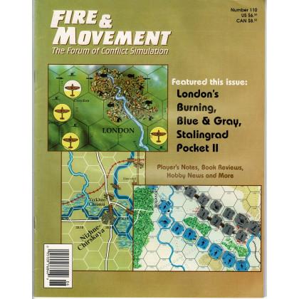 Fire & Movement 110 (magazine de wargames en VO) 001