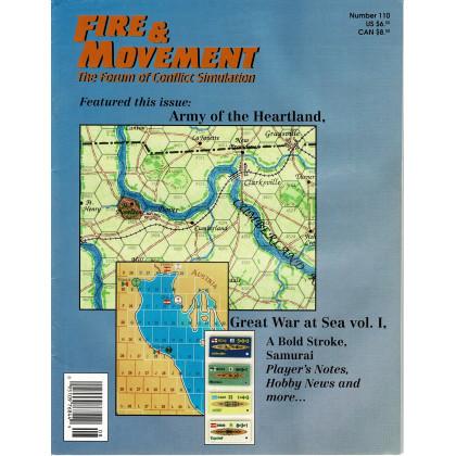 Fire & Movement 111 (magazine de wargames en VO) 001