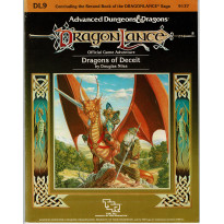 Dragonlance - DL9 Dragons of Deceit (jdr AD&D 1ère édition en VO)