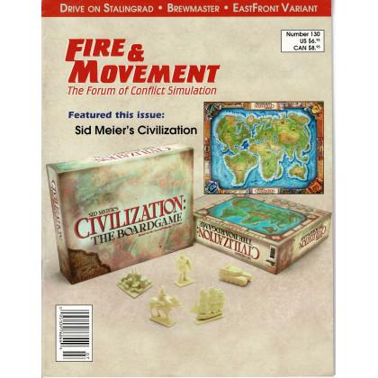 Fire & Movement 130 (magazine de wargames en VO) 001