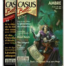 Lot Casus Belli N° 81-94 sans encarts (magazines de jeux de rôle)