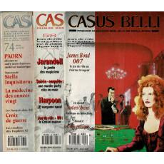 Lot Casus Belli N° 47-58-74 sans encarts (magazines de jeux de rôle)