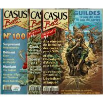 Lot Casus Belli N° 94-95-100 sans encarts (magazines de jeux de rôle) L130