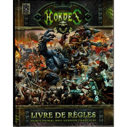 Hordes - Livre de Règles Remix Primal MKII (Jeu de combat de figurines Warmachine en VF) 001