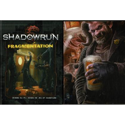 Shadowrun 5e édition - Ecran du MJ & Fragmentations (jdr Black Book Editions en VF) 001