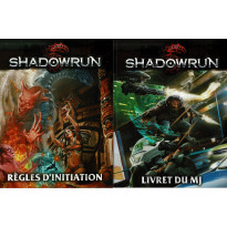 Shadowrun 5e édition - Pack d'initiation (jdr Black Book Editions en VF)