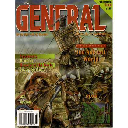 The General Vol. 32 Nr. 2 (magazine jeux Avalon Hill en VO) 001