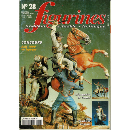 Figurines Magazine N° 28 (magazines de figurines de collection) 001