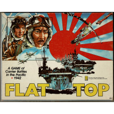 Flat Top - A Game of Carrier Battles in the Pacific 1942 (wargame d'Avalon Hill en VO)