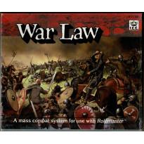 War Law - Mass Combat System (jdr Rolemaster en VO) 001