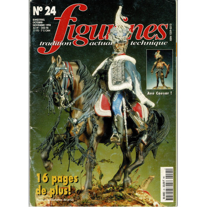 Figurines Magazine N° 24 (magazines de figurines de collection) 001