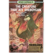 Space Capsule 1 - The Creature that ate Sheboygan (wargame de SPI 1979 en VO) 001