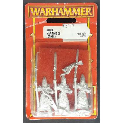 Garde Maritime de Lothern (blister de figurines Warhammer) 001