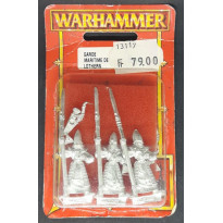 Garde Maritime de Lothern (blister de figurines Warhammer) 002