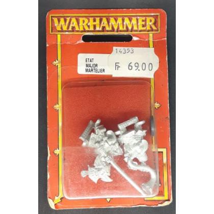 Etat-Major Martelier (blister de figurines Warhammer) 001