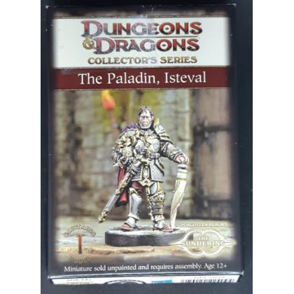 The Paladin Isteval - Dungeons & Dragons Collector's Series (jdr D&D 4 en VO) 001