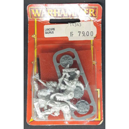 Lanciers Saurus (blister de figurines Warhammer) 001