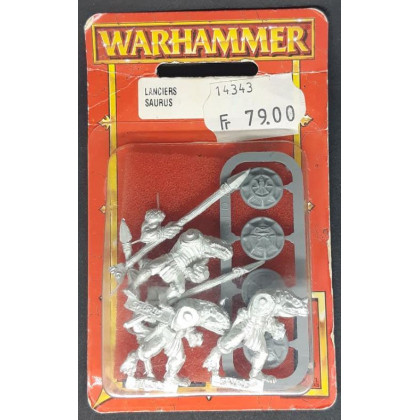 Lanciers Saurus (blister de figurines Warhammer) 002