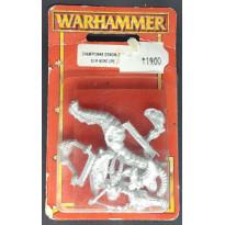 Championne Démonette sur monture (blister de figurine Warhammer)