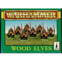 Wood Elves (boîte de figurines Warhammer de Games Workshop en VO)