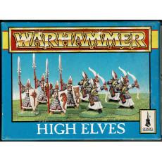 High Elves (boîte de figurines Warhammer de Games Workshop)