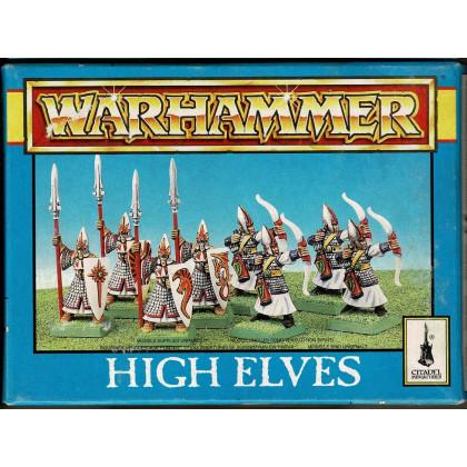 High Elves (boîte de figurines Warhammer de Games Workshop) 001