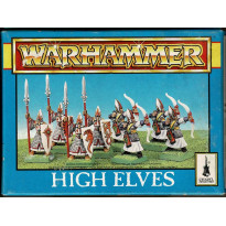 High Elves (boîte de figurines Warhammer de Games Workshop en VO)