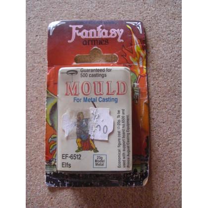 EF-6512 Elfs - Mould for Metal Casting (moule de figurines en plomb Prince August) 001