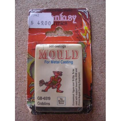 GB-6519 Goblins - Mould for Metal Casting (moule de figurines en plomb Prince August) 001