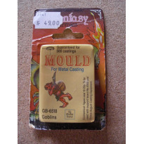 GB-6518 Goblins - Mould for Metal Casting (moule de figurines en plomb Prince August)