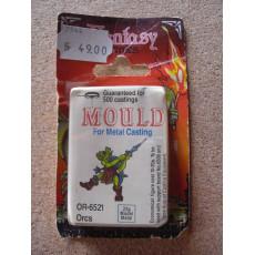 OR-6521 Orcs - Mould for Metal Casting (moule de figurines en plomb Prince August)