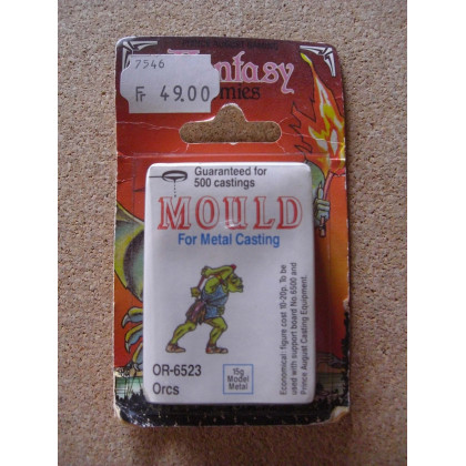 OR-6523 Orcs - Mould for Metal Casting (moule de figurines en plomb Prince August) 001