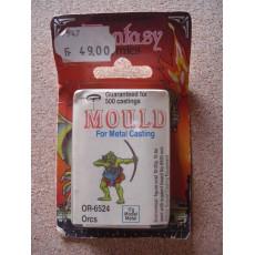 OR-6524 Orcs - Mould for Metal Casting (moule de figurines en plomb Prince August)